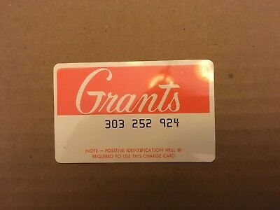 24 Vintage Department Store Credit Cards
