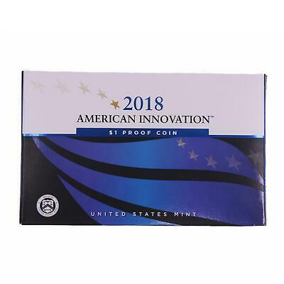 2018 S American Innovation Signed First Patent Dollar Gem Deep Cameo Proof OGP