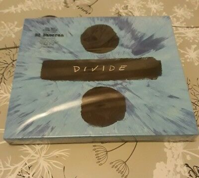 ED SHEERAN DIVIDE (÷) DELUXE CD {FAST AND FREE Delivery}