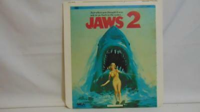 RCA Selectavision Video Disc 1983 ( JAWS 2  ) Embassy Pictures Video