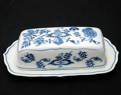 BLUE DANUBE (Japan) China- COVERED BUTTER DISH - Blue Onion Pattern