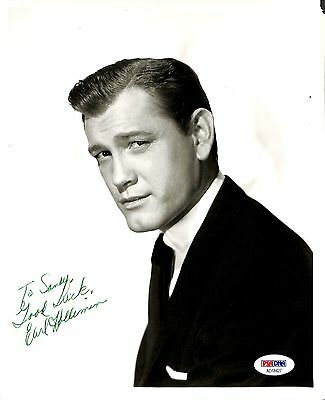 Earl Holliman  PSA/DNA Autographed Signed 8 X 10 Photo Certified Actor
