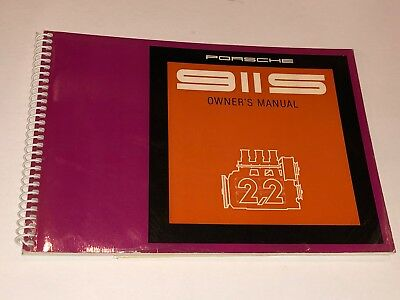 REAL NOS 1970 Porsche 911 S 911S Drivers Owners Owner's Manual OEM - Original