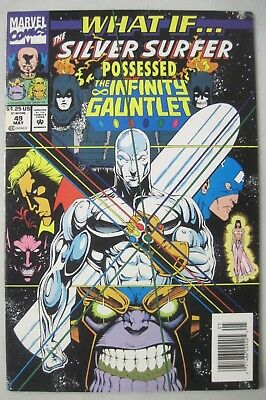 What If #49 The Silver Surfer Possessed The Infinity Gauntlet Marvel Comics