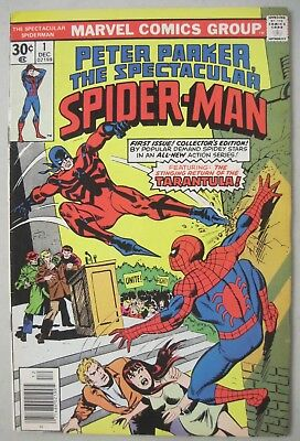 Peter Parker The Spectacular Spider-Man #1 Marvel Comics 1976 First Issue!