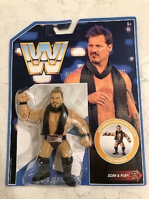 2019 WWE Mattel Retro Series 7 CHRIS JERICHO Action Figure WWF Hasbro MOC - NEW