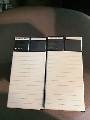 Matching Pair Allen Bradley 1757-SRM Series B Redundancy Module ControlLogix
