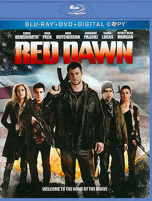 Red Dawn (Blu-ray/DVD, 2013, 2-Disc Set) NEW Factory Sealed, Free Shipping