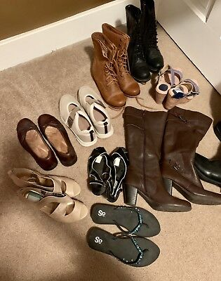 womens shoe lot size 8