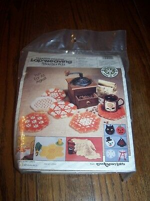 Hexagon Coaster Lap Weaving Loom Starter Kit  Love Money Crafts Sealed