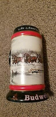 Budweiser Stein Collector's Series  1990 New FREE SHIPPING