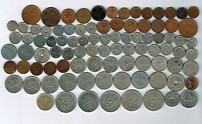 92 different coins from Norway : 1941 - 2011