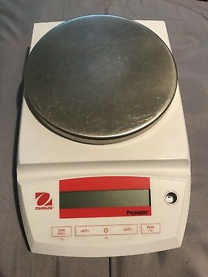 Ohaus Pioneer Analytical Scale PA3102