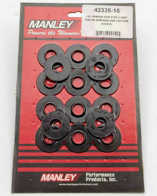 Manley 42122-16 Outside Valve Spring Locator 1.680 in OD 0.635 in ID 16 pc