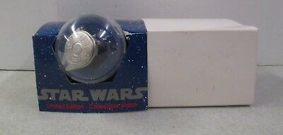 Mib 1993 Star Wars Millennium Falcon Limited Collectible Watch 01983/10000 W/Coa