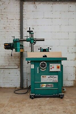 Heavy Duty Wood Spindle Shaper by Grizzly Z-series