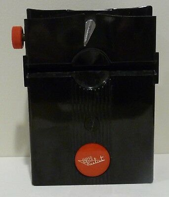 """Realist Stereo Slide Viewer Red Button Untested Sold """"AS-IS - NO RETURNS"""""""