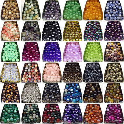 4mm 6mm 8mm 10mm Natural Gemstone Stone Spacer Loose Beads Jewellery Making