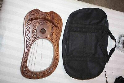 Handmade Lute / Zither / Harp as pictured