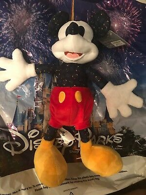 Disney Epcot Festival Of The Arts 2019 Mickey Mouse Stuffed Plush New In Hand