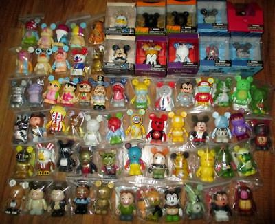 Misc Lot of 50 Urban Park Animation Cutesters Mickey Mouse Vinylmation Disney