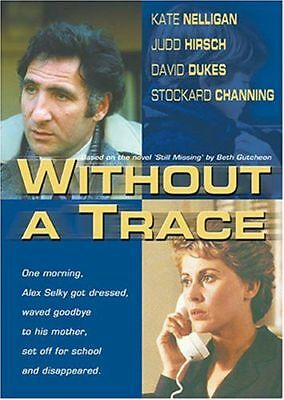 Without a Trace (DVD, 2005) LN & INSERT Rare OOP Out of Print Hard to Find HTF