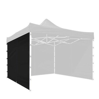 1Pc 10x10 Ft EZ Pop Up Canopy Side Wall Panel Tent Shelter Shade Zipper Black