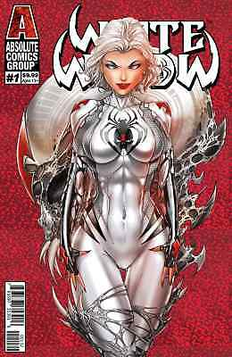 """White Widow #1 2nd Print Variant Pre-Order !! COVER """"C"""" Tyndall Powell WOW! 1:10"""