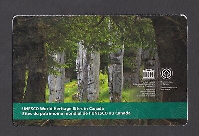 CANADA BOOKLET BK585 6 x $2.50 UNESCO WORLD HERITAGE SITES IN CANADA