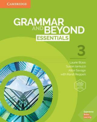 Grammar and Beyond by Laurie Blass Book & Merchandise Book Free Shipping!