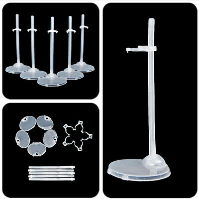 Doll Stand Display Lot 5 Pcs Durable Useful Accessories New