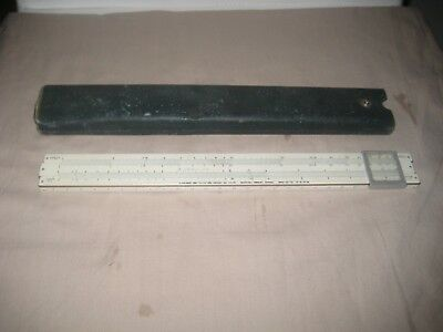 Sun Hemmi Japan Slide Rule & Case
