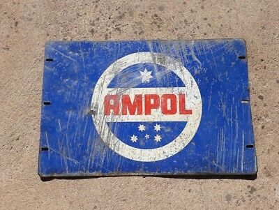 Original Ampol Motor Oil Sign