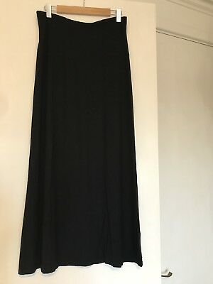 Pea In A Pod Maternity Black Skirt Size 14