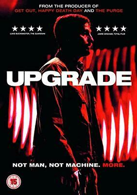 Upgrade (DVD) [2018] - DVD  3HVG The Cheap Fast Free Post