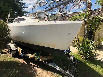 yacht Roberts 246 west system buil NO RESERVE