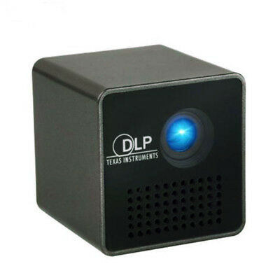 Projector Multimedia P1 Airplay Usb Dlp Led Black Theater Mini Pocket Hd Home