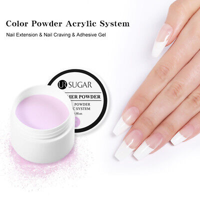 UR SUGAR 15ml Acrylic Powder Nail Tip Extension Base Color French  Tool