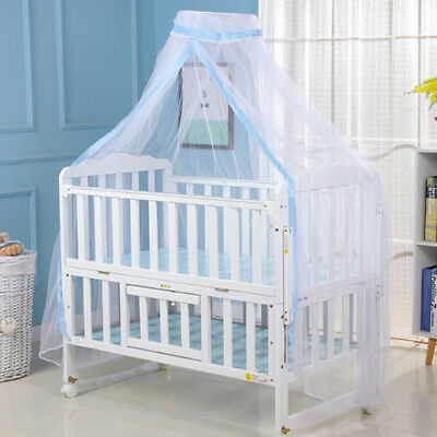 Baby Kids Bed Canopy Bedcover Mosquito Net Curtain Bedding  Tent 8C