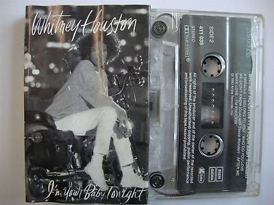 Whitney Houston - I'm Your Baby Tonight - Cassette Tape