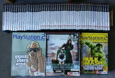 Official Playstation 2 (OPS2) Magazines Issues 42-99 ALL CONTENT
