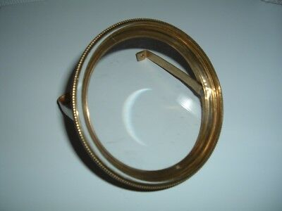 French Clock Brass  Bezel With Glass