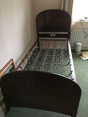 Staples Bed Antique Bedstead 1915 Approx