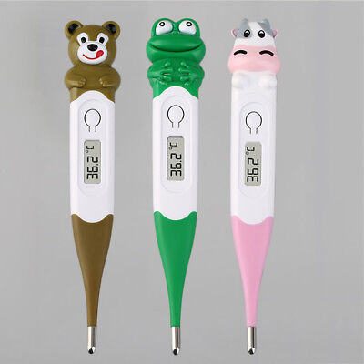 Cute Animals Diagnostic Digital Monitor Thermometer Oxter For Baby Children~#%