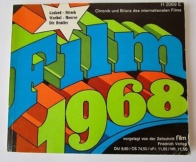 "Buch ""Film 1968"", Chronik und Bilanz des Internationalen Films"