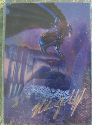 1995 Fleer Skybox, DC Comics card, Nick Jainschigg #5 of 6, Batman Master Series