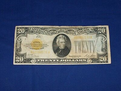 $20 Gold Certificate Series of 1928. U20