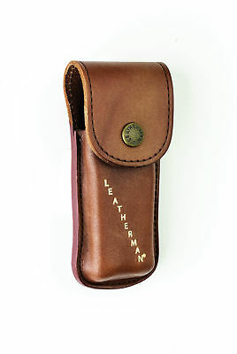 TUFF LUV Leather Heritage Case for Leatherman Wave / Charge / Skeletool - Brown