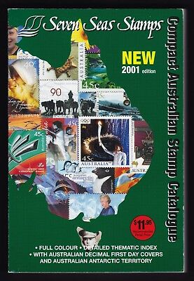 Seven Seas Stamps Compact Australian Stamp Catalogue 2001