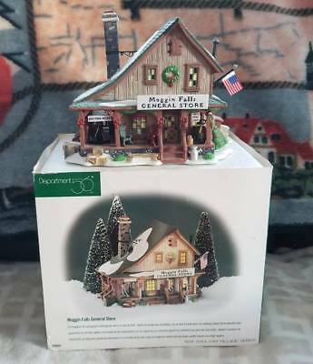 Department 56 New England Village Village Series Moggin Falls General Store, Exc